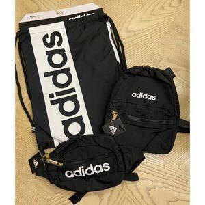 *BUNDLE* Adidas Backpacks/Waistpack